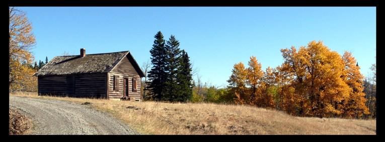 Holzhütte in Kanada