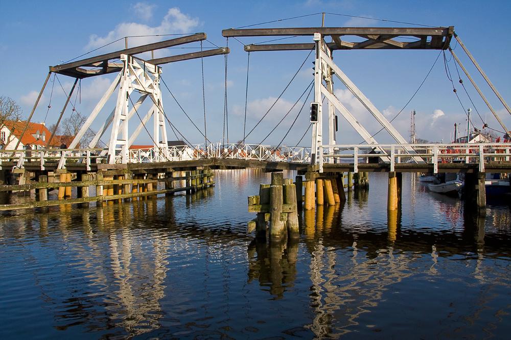 Holzkappbrücke in Wieck