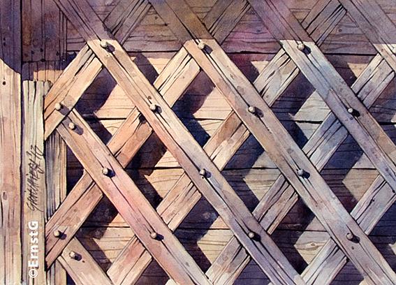 Holzkunst (Aquarell - OD)