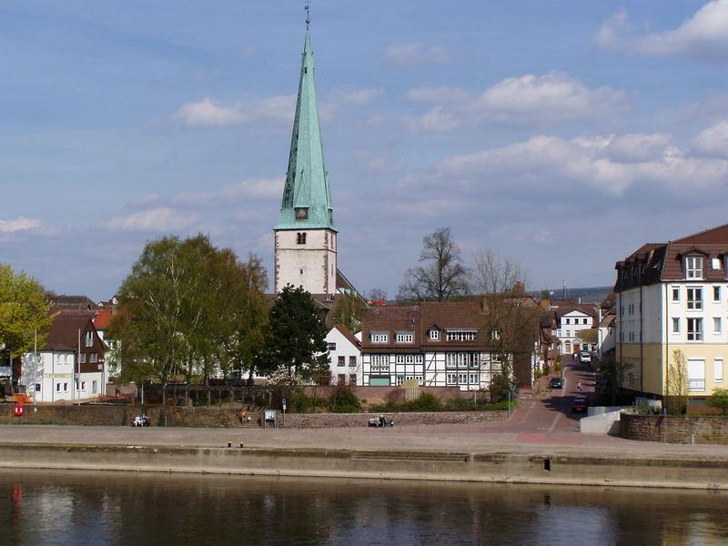 Holzminden , Weserkai