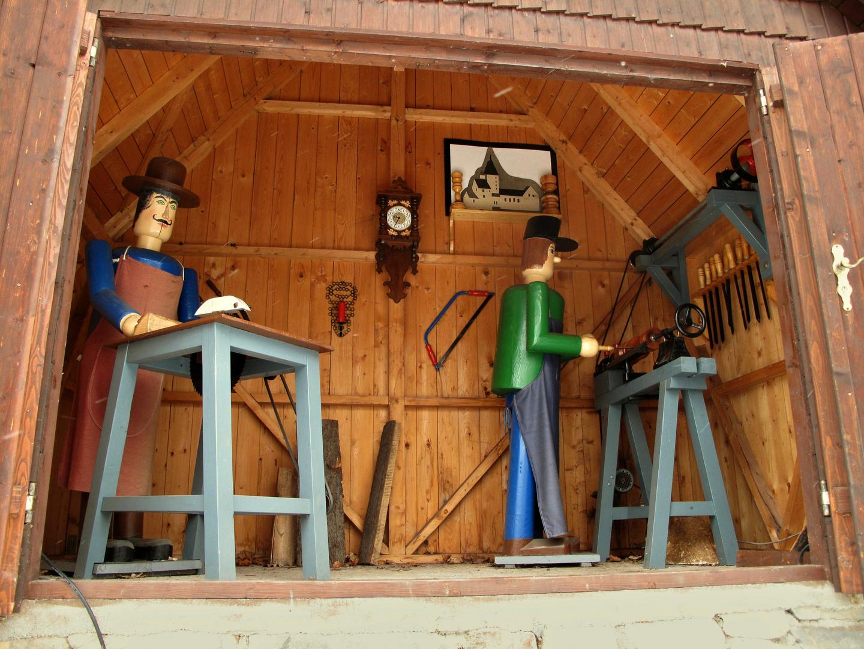 Holzschnitzkunst im Erzgebirge