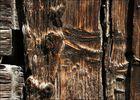 Holzstrukturen an den alten Gaden