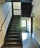 Holztreppe nach oben