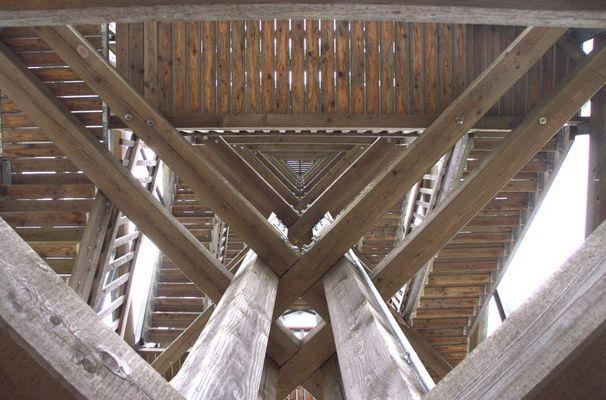 Holzturm bei Blumenthal