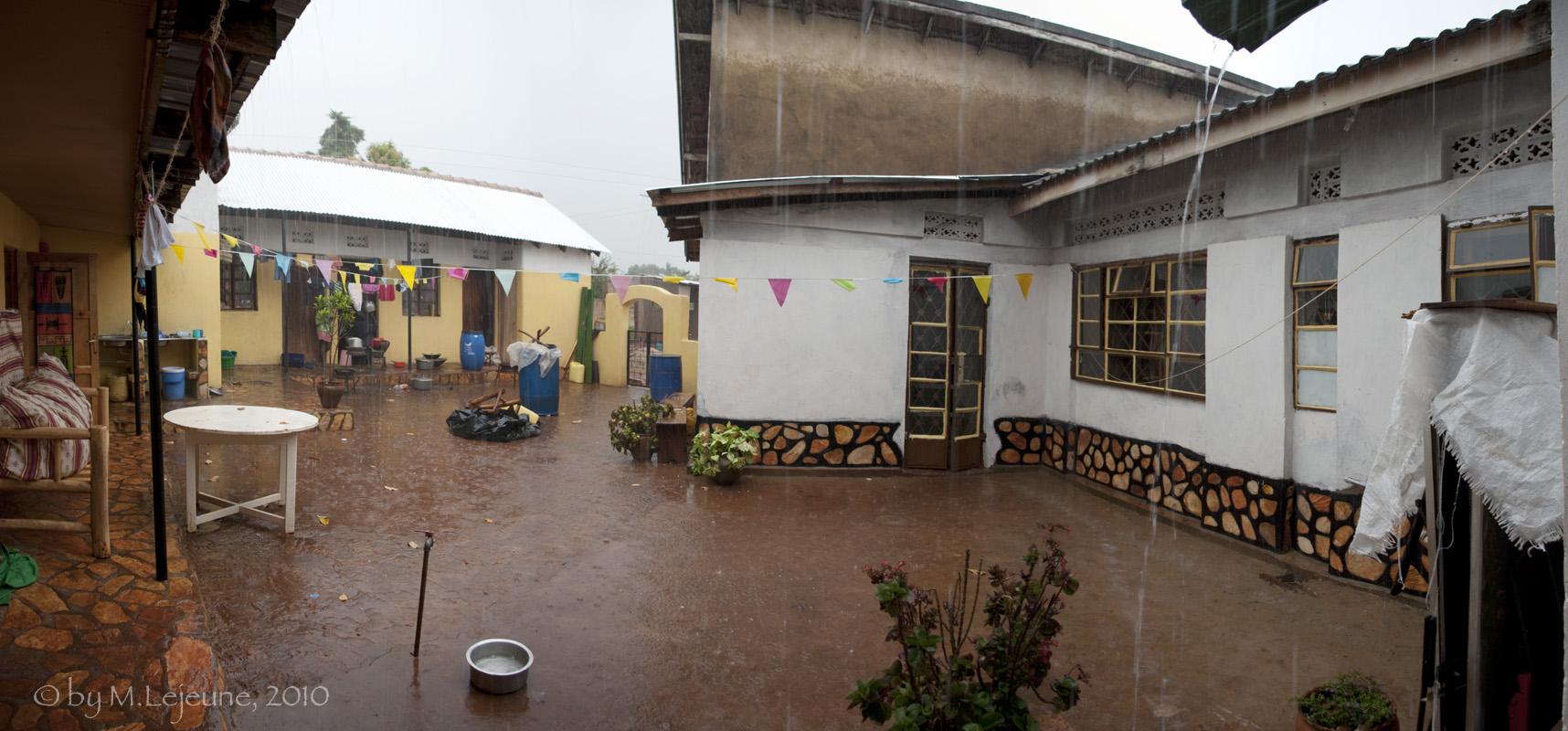 *Home in rain season*