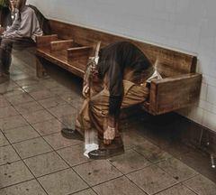Homeless, New york metrò