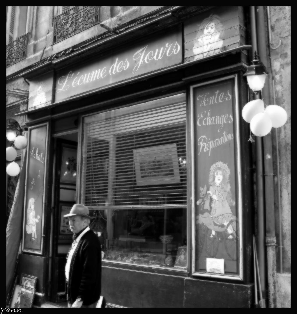 Hommage a Boris Vian.
