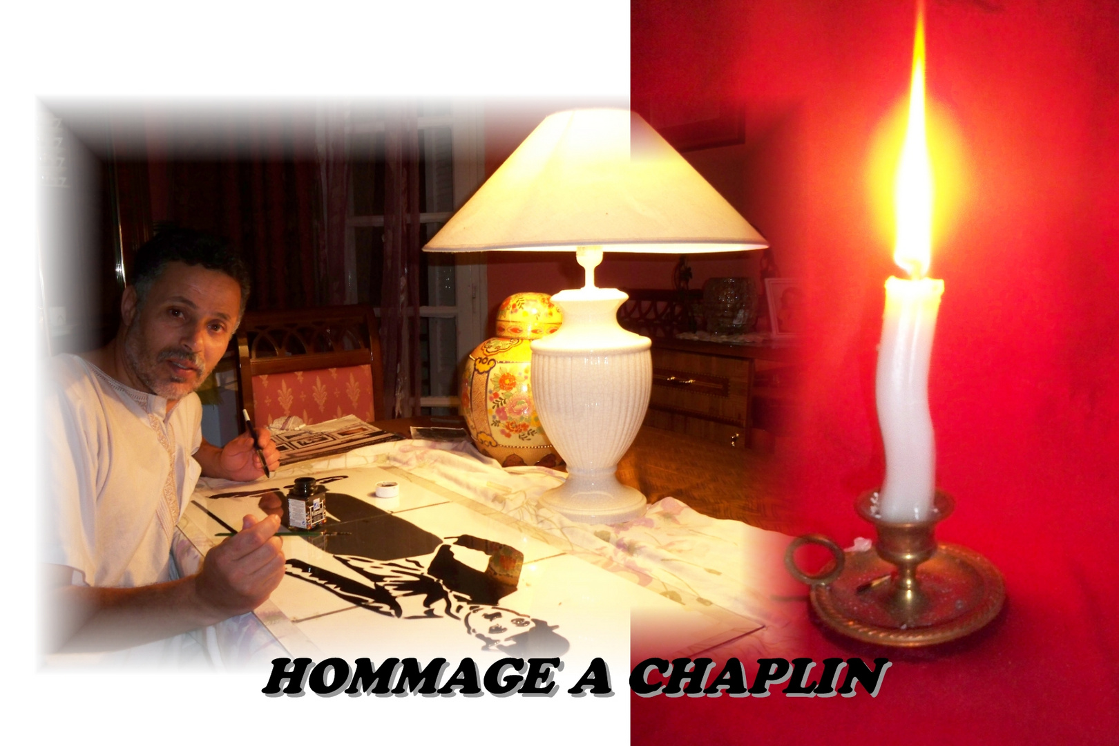 HOMMAGE A CHAPLIN