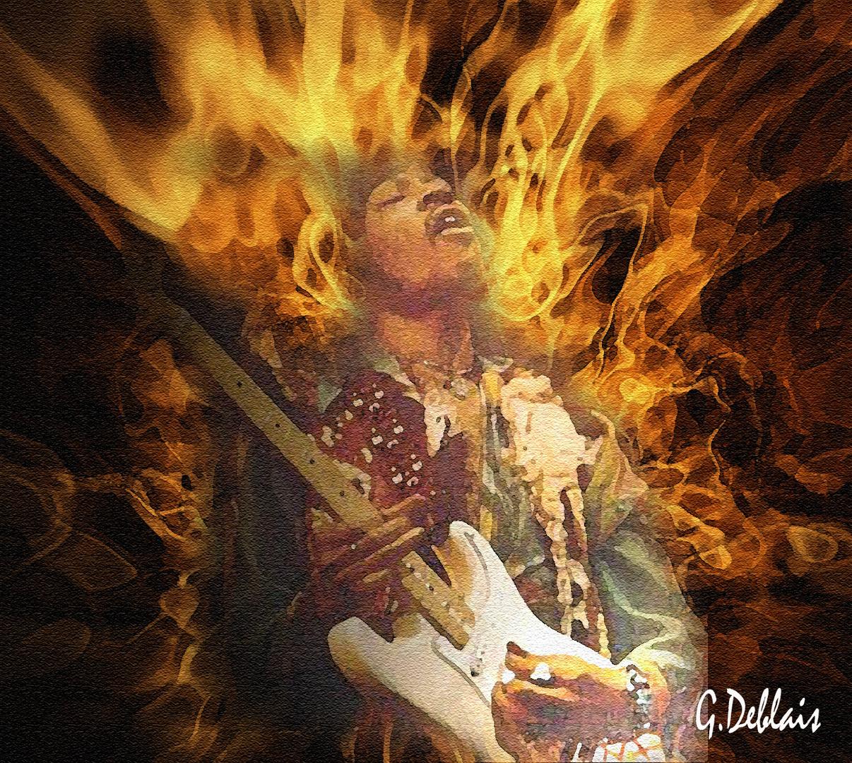 hommage a mon guitariste