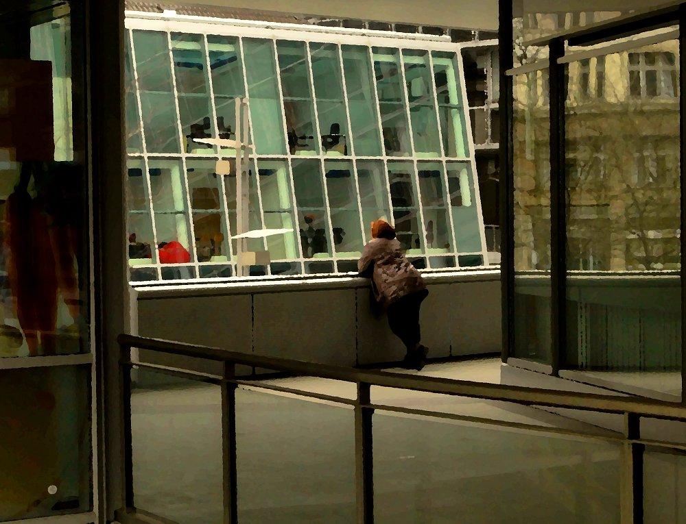 Hommage an Edward Hopper 2