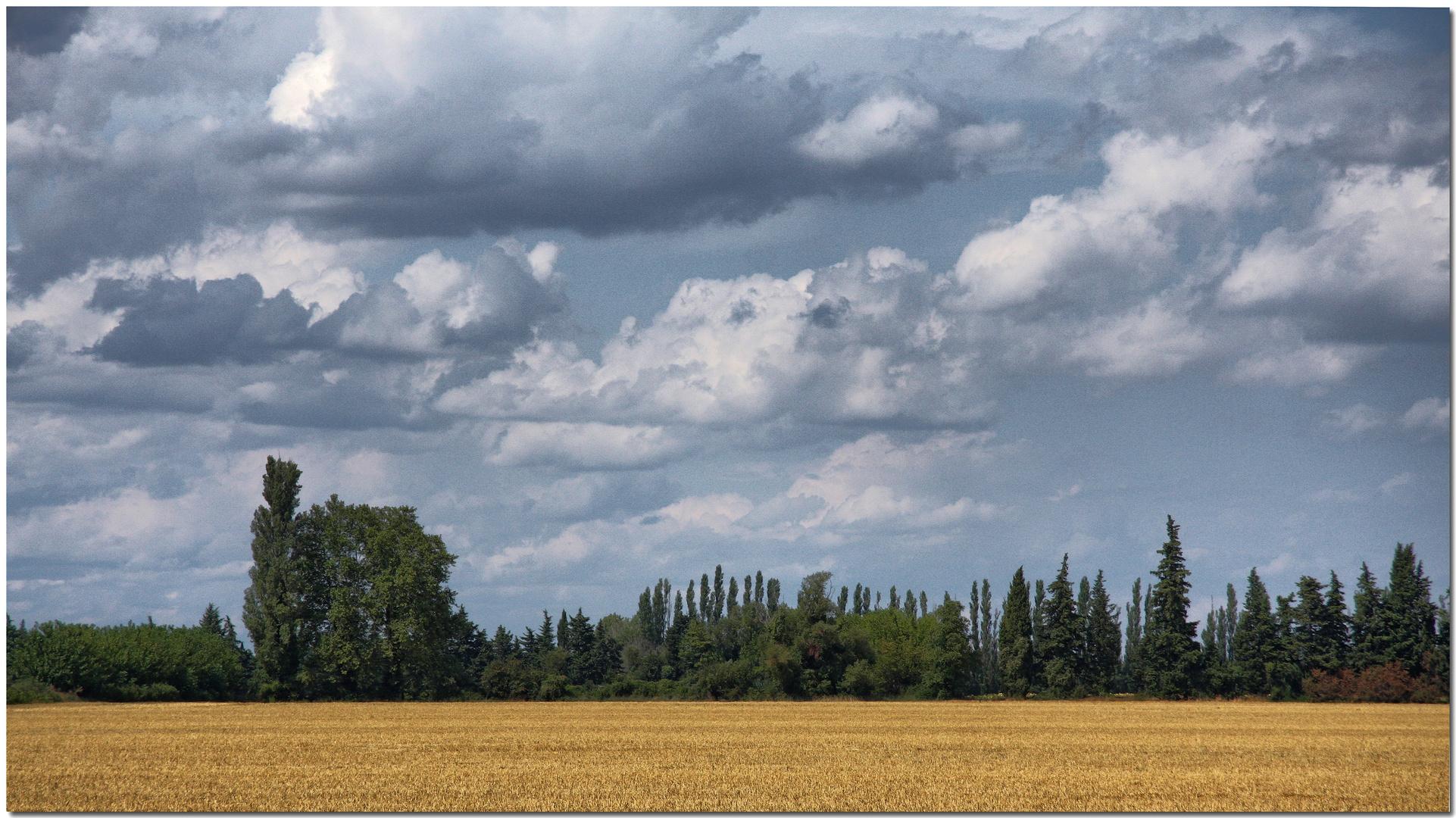 Hommage au ciel de Provence