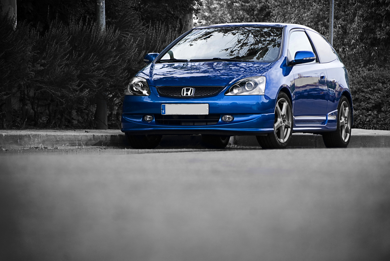 Honda Civic Vtec Sport (Black in Blue)