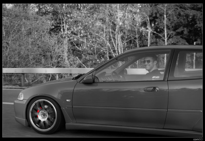 Honda Civic VTi (EG6) On The Road...