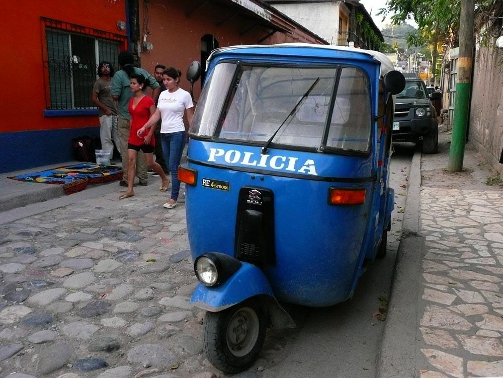 Honduras - Copan Police