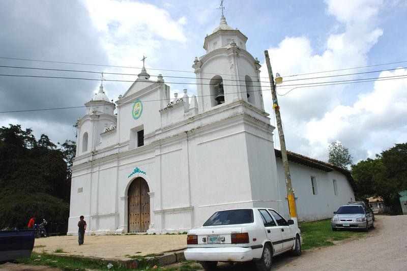 Honduras, iglesia de ojojona