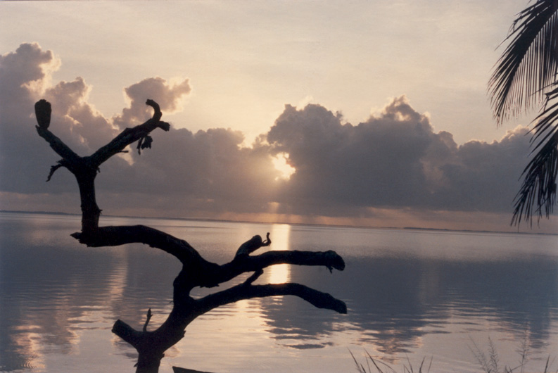 Honduras, Laguna Caratasca, Sonnenaufgang
