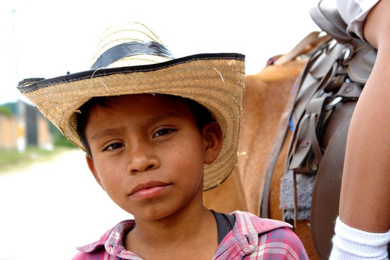 Honduras, Ojojona / el guia