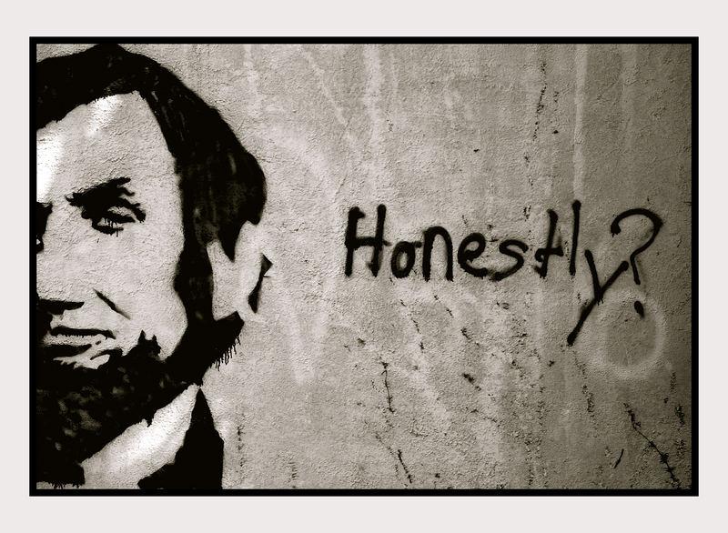 Honest Abe?
