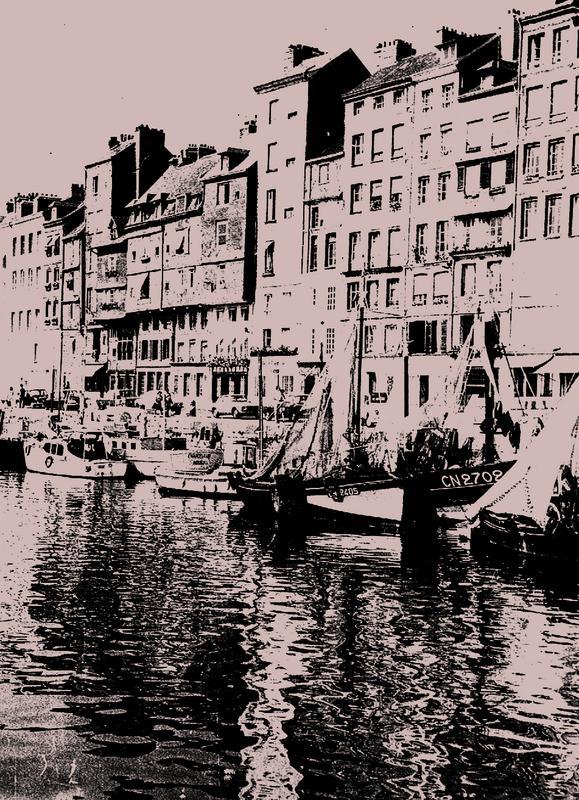 Honfleur im Jahre 1970