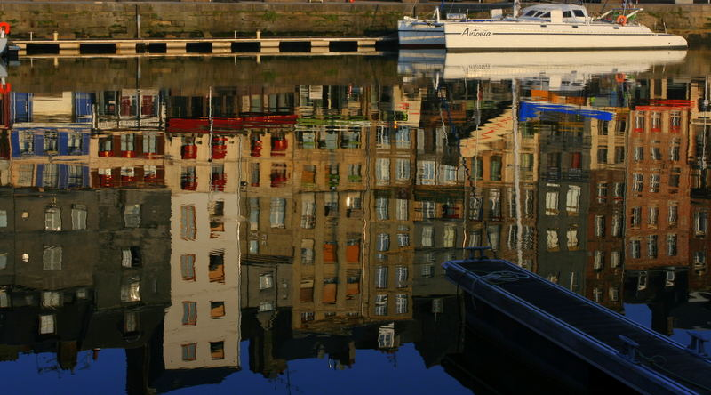 honfleur reflections