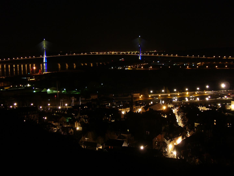 Honfleur und Pont de Normandie