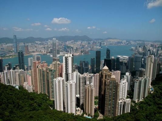 Hong-Kong et ses grattes-ciel