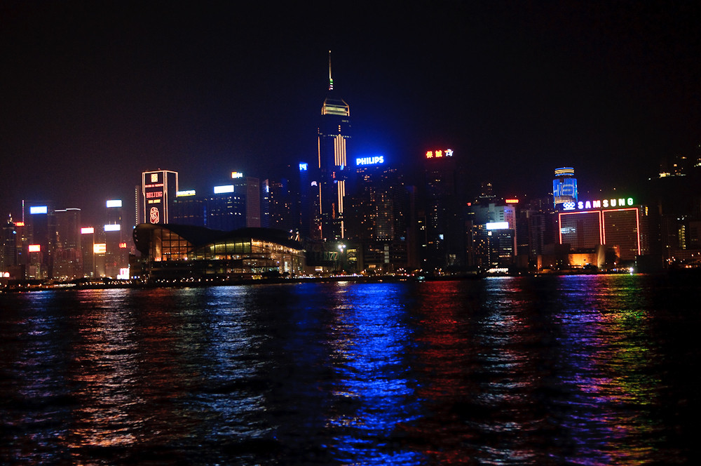 Hong Kong Harbor - Nightview III