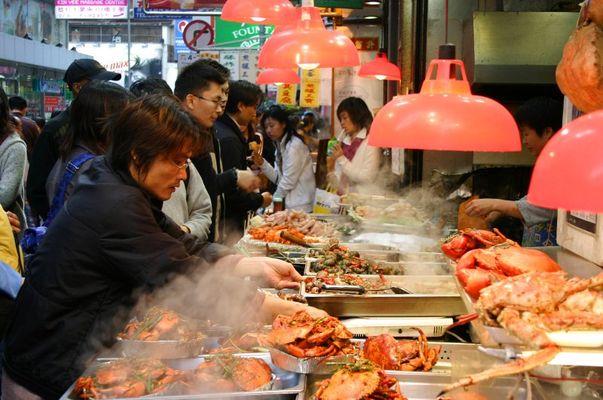 Hong Kong -seafood-