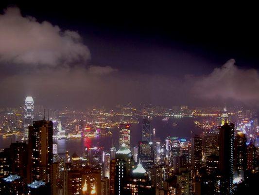 Hong Kong - The Peak by Night