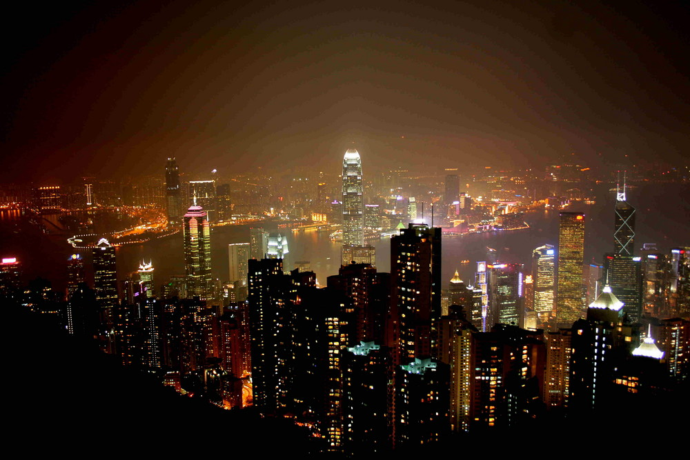 Hong Kong - Viktoria Peak - China