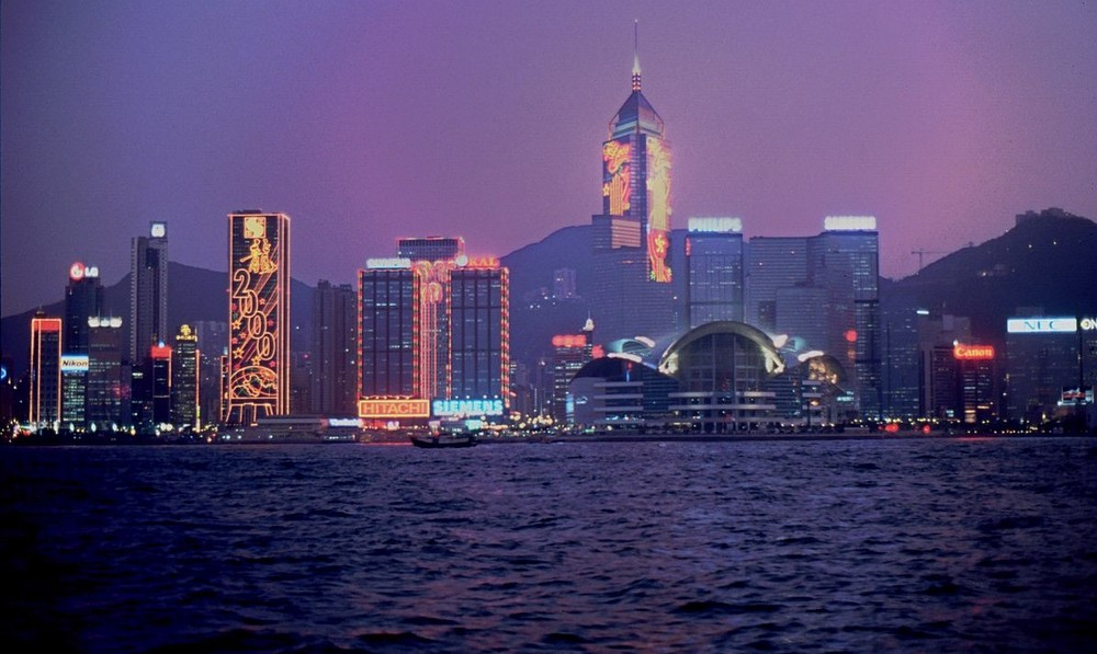 Hongkong 2000 bei Nacht