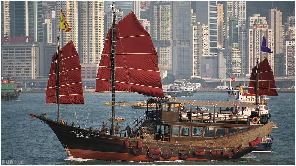 Hongkong - Aqualuna ... bei Tag ...