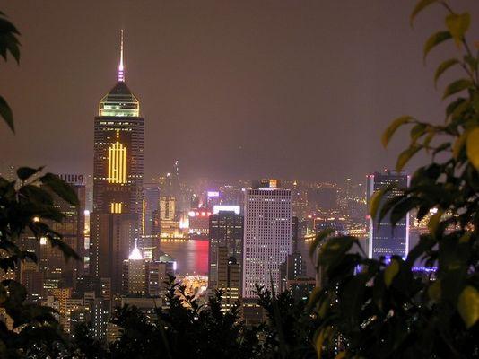Hongkong. Blick vom Peak