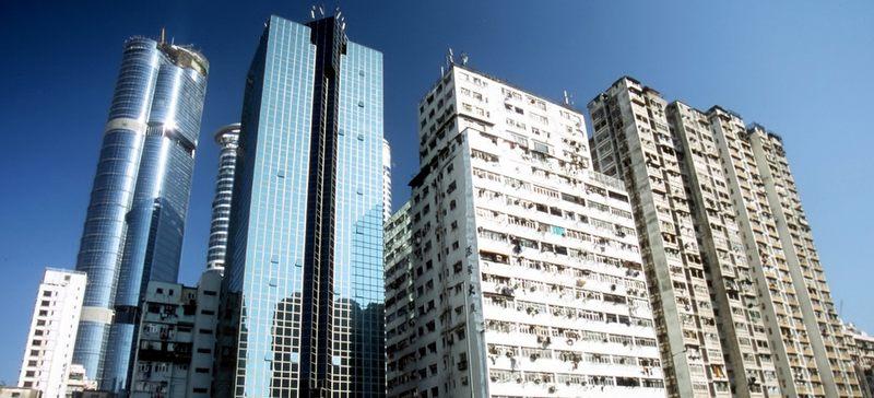 Hongkong - Gegensätze