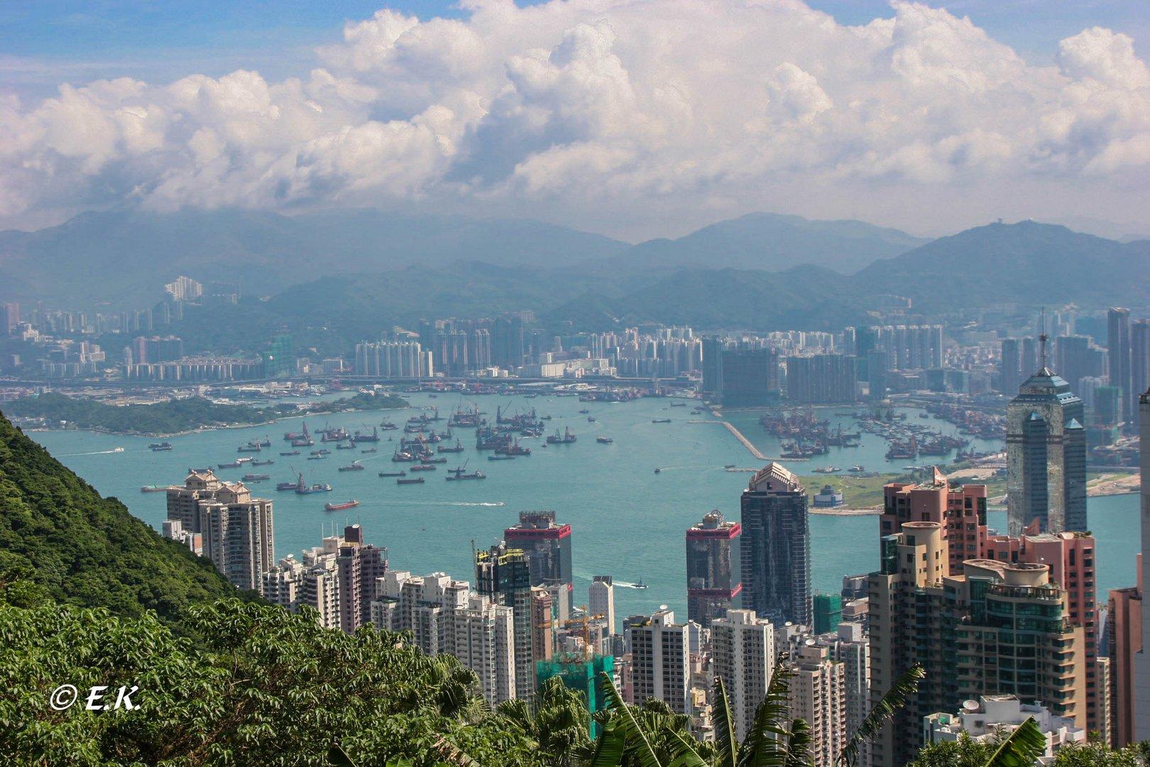 Hongkong ohne Smog