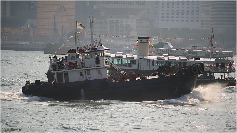 Hongkong - Schiffrennen