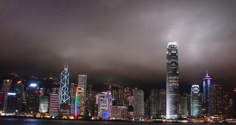 Hongkong Skyline 28.05.2009