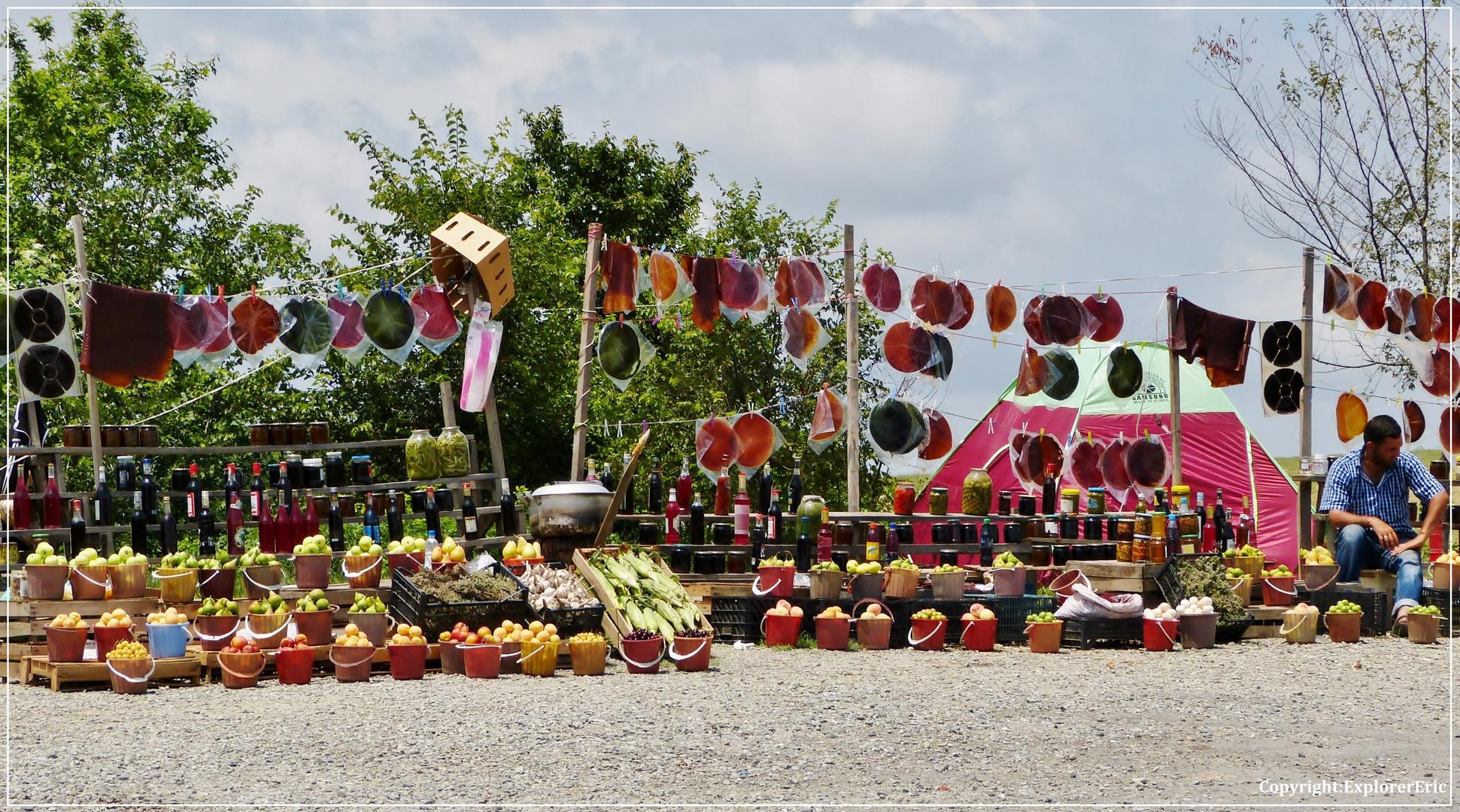 Honig, Obst und Früchte zu verkaufen............