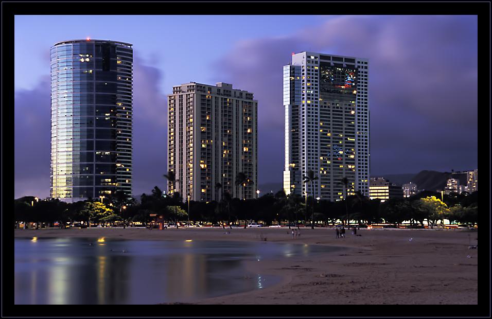 Honolulu - Sunset