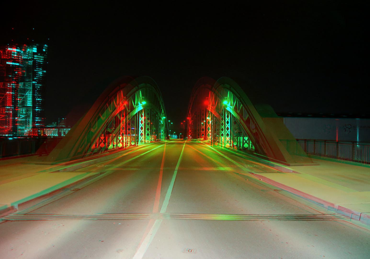Honsellbrücke mit EZB