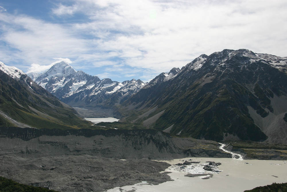 Hooker Valley und Mt. Cook