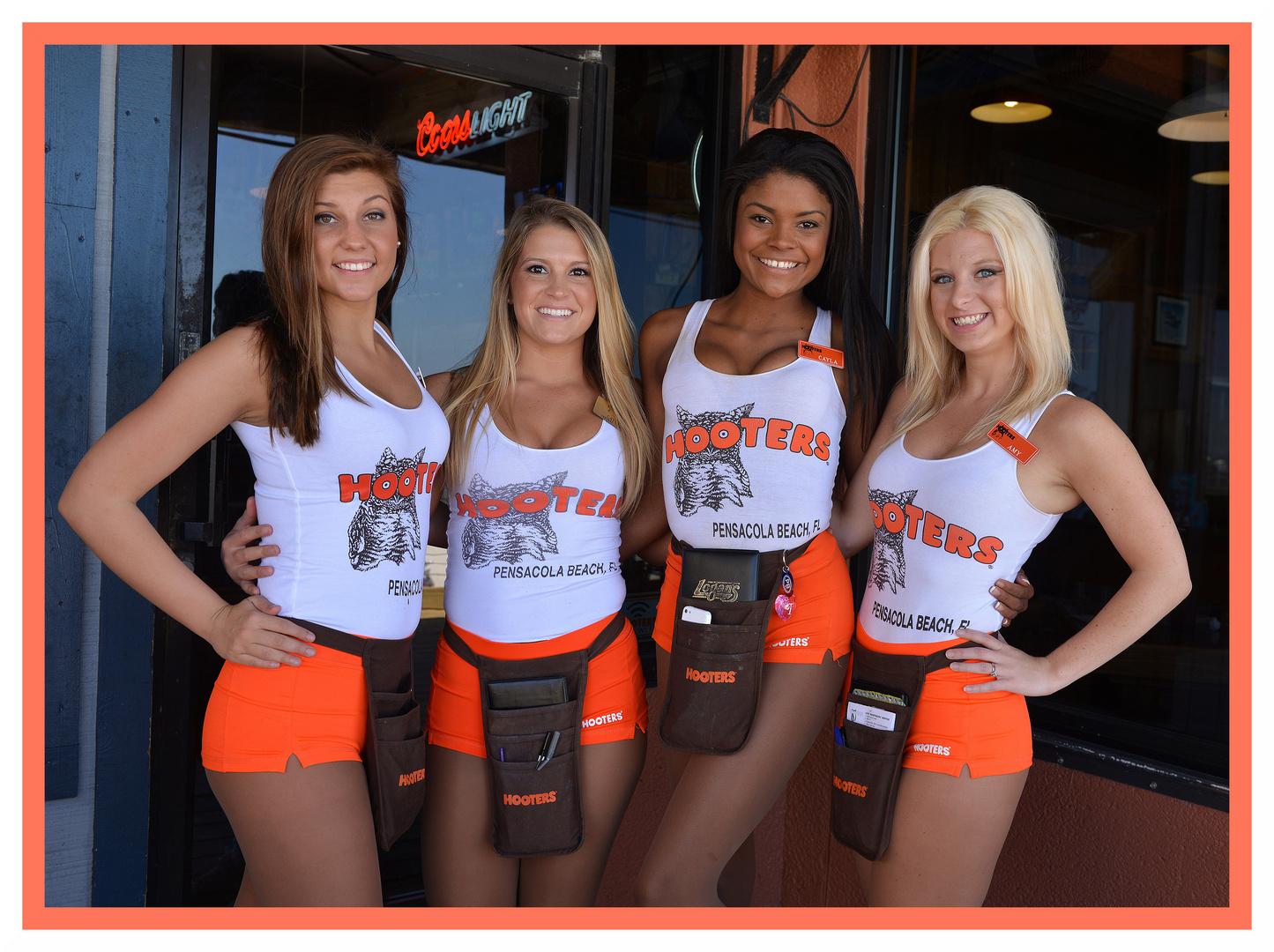 Hooters of Pensacola Beach, Florida