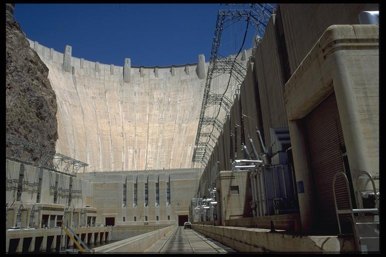 Hoover Damm mal aus anderer Perspektive