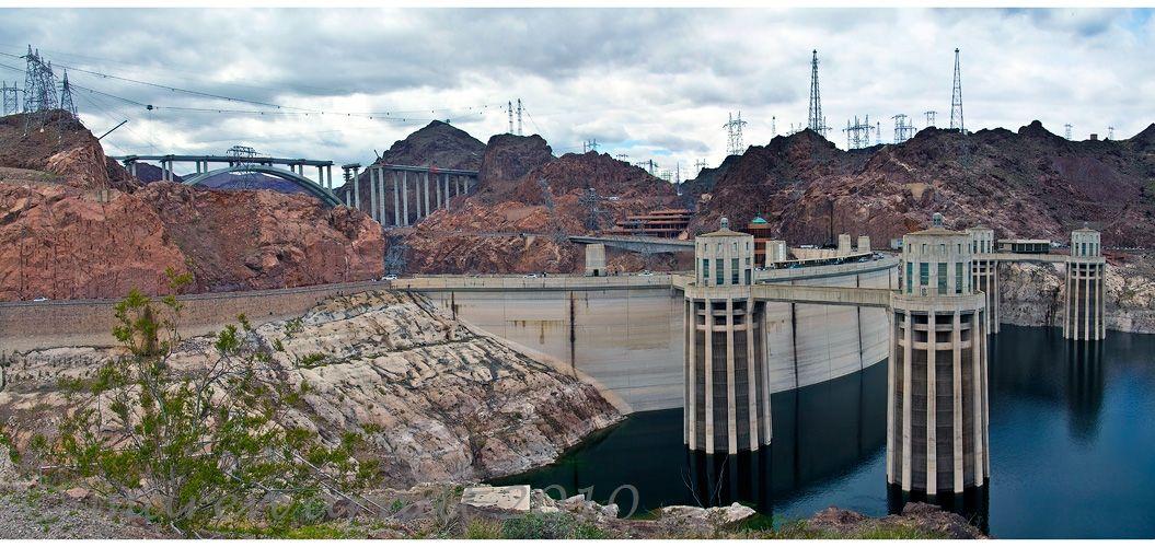 Hoover Damm Panorama