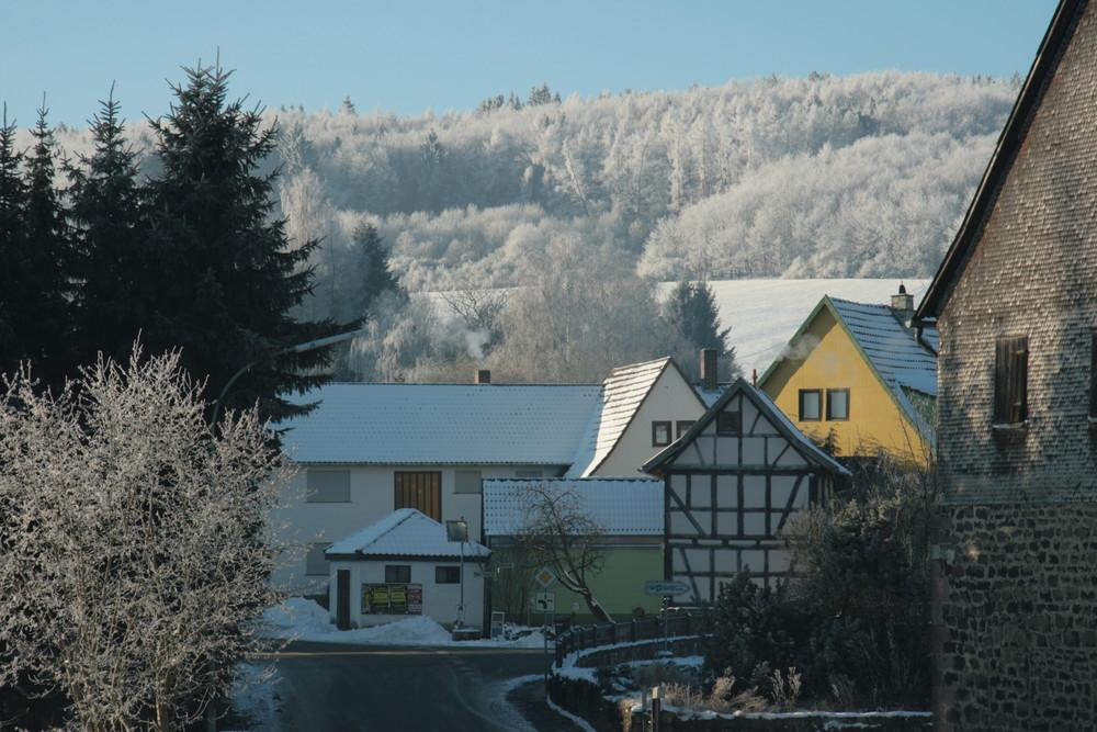 Hopfgarten im Winter