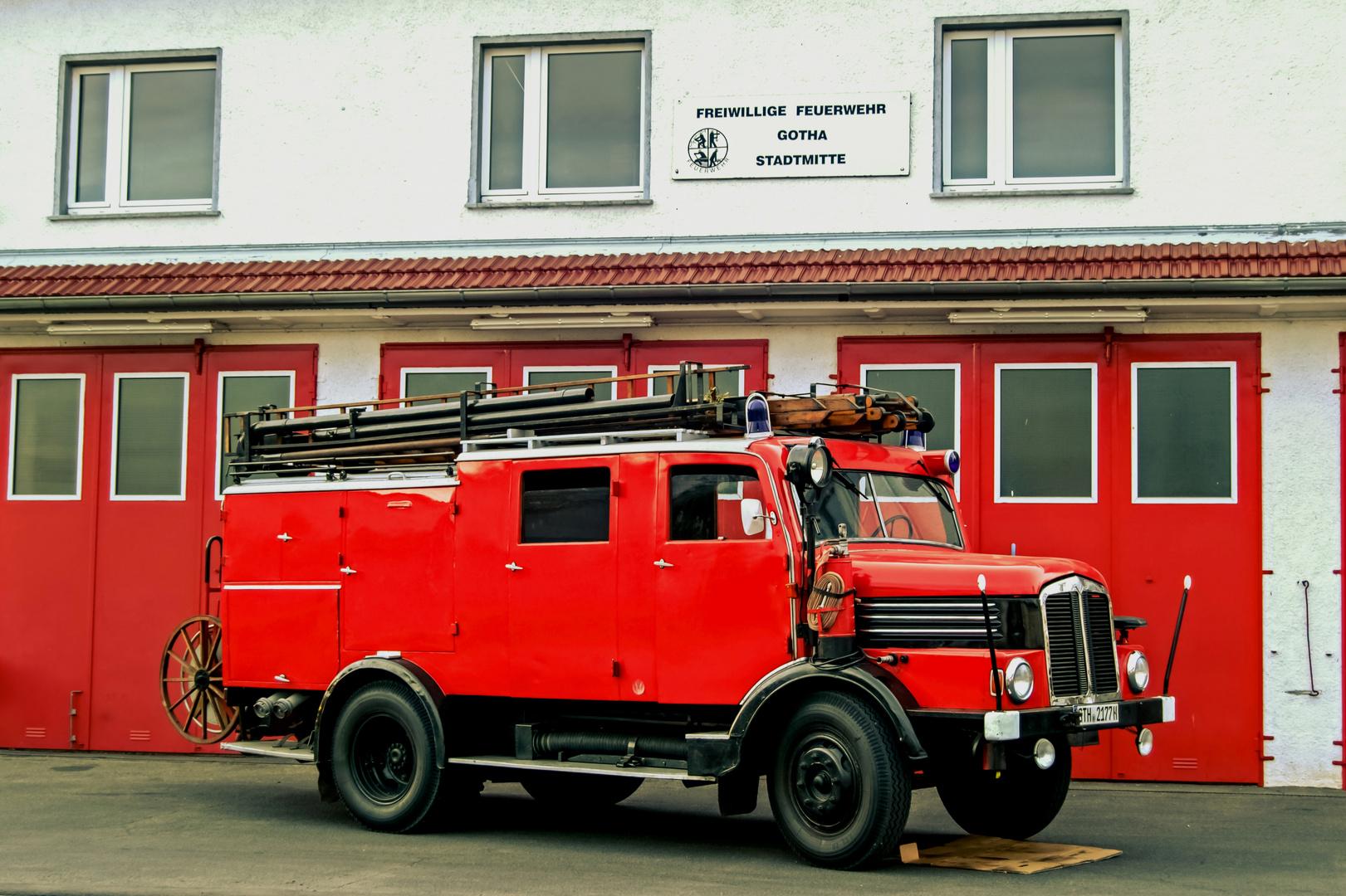 Horch H3A - Löschgruppenfahrzeug