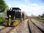 Horlecke Hf. Schwerer langer Güterzug ......!