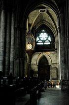 HOrloge de la cathédrale de Reims