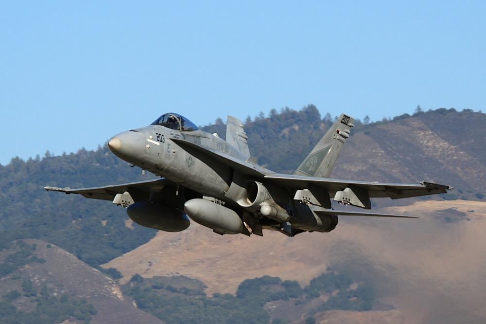 Hornet Takeoff