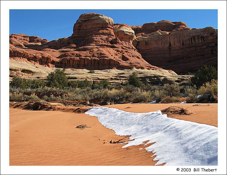 Horse Canyon Snow